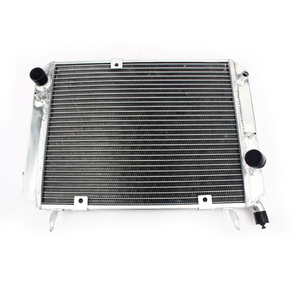 BIKINGBOY 34mm Aluminium Alloy Core Engine Radiator Water Cooling Cooler for Yamaha FJR 1300 2000 2001 2002 2003 2004 2005 Set