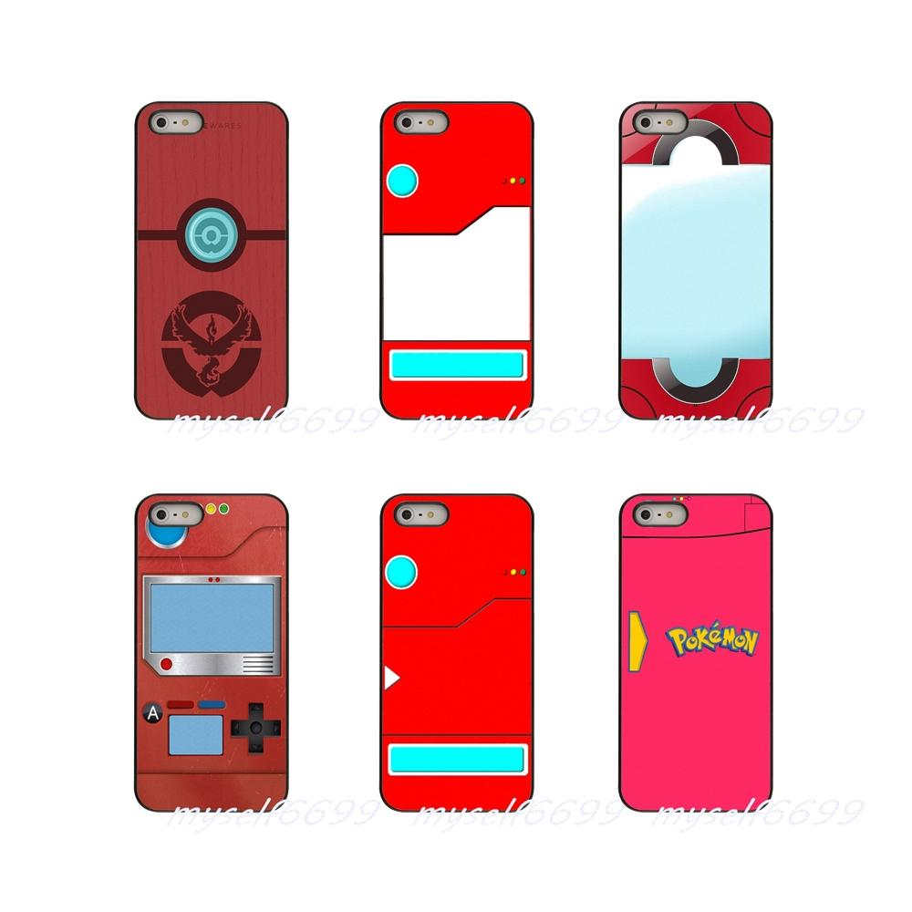 uk availability 90ea7 be130 Pour Red Pokedex Alt Art Poster Hard Phone Case Cover For Apple iPhone X XR  XS MAX 4 4S 5 5S 5C SE 6 6S 7 8 Plus ipod touch 4 5 6