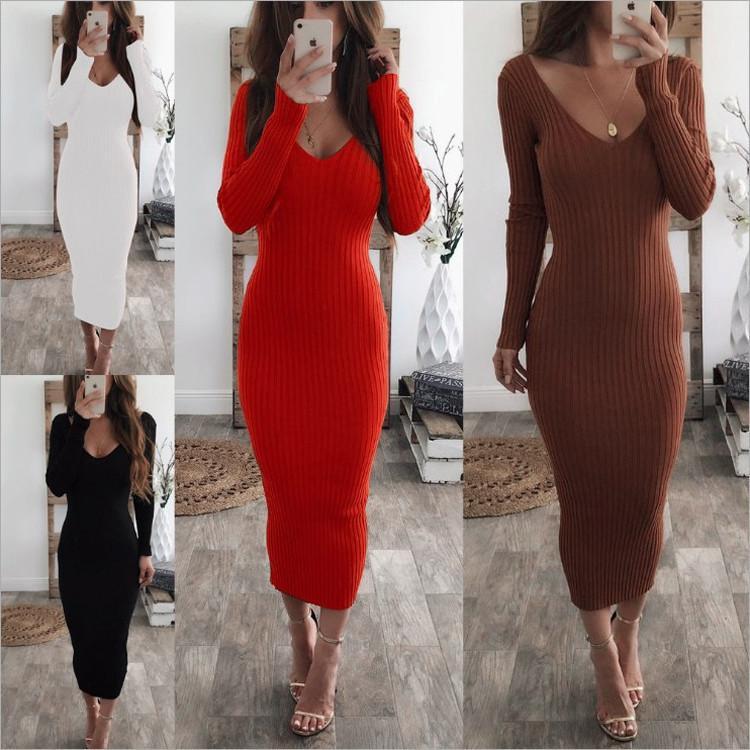Dresses 2018 New Arrival Streetwear Side Zippers Solid Autuom Vestidos De Fiesta Robe New Knit Dresses And Irregular Hooded Dress Women