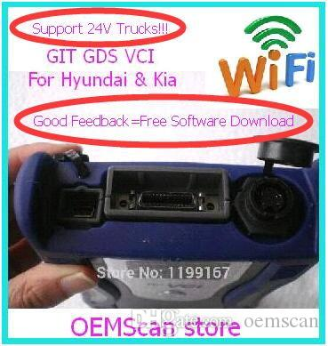 2018 Original GDS VCI for hyundai trucks&car support WIFI function& Self Test without Software GDS for Hyundai& KIA GDS scanner