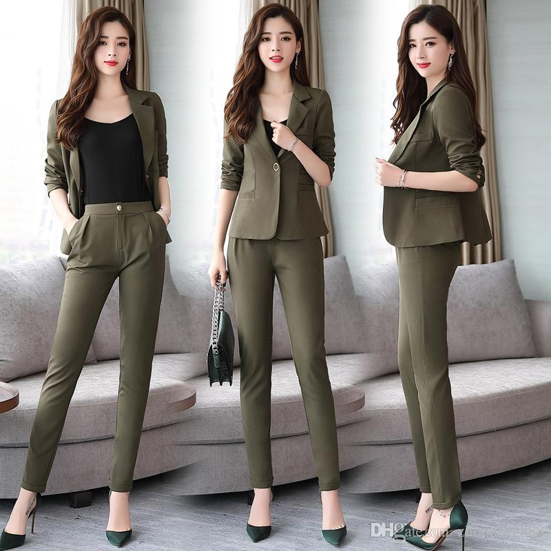 2019 Casual Fashion Trends: 2019 Customized New Fashion Trend Women'S Single Button