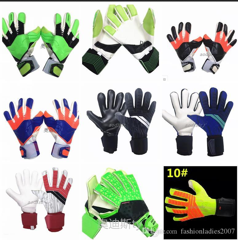 size 40 31003 62efd Luxury Brand Goalkeeper gloves for Men Ace Trans Pro without Finger Save  4MM Latex Soccer Gloves Goalkeeper Glove Training Football Gloves