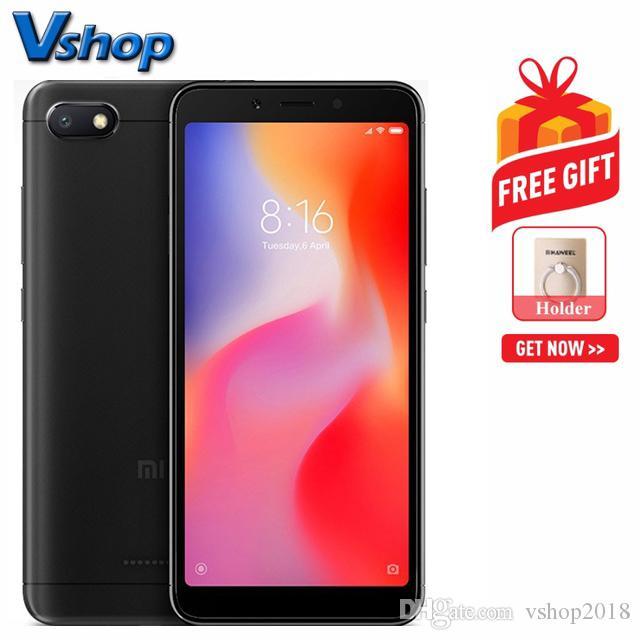 1688e8960 Großhandel Xiaomi Redmi 6A 2GB + 32GB Globale Offizielle Version 5,65 Zoll  MIUI 9.0 Helio A22 Quad Core Bis 2,0 GHz Netzwerk: 4G Von Vshop2018, ...