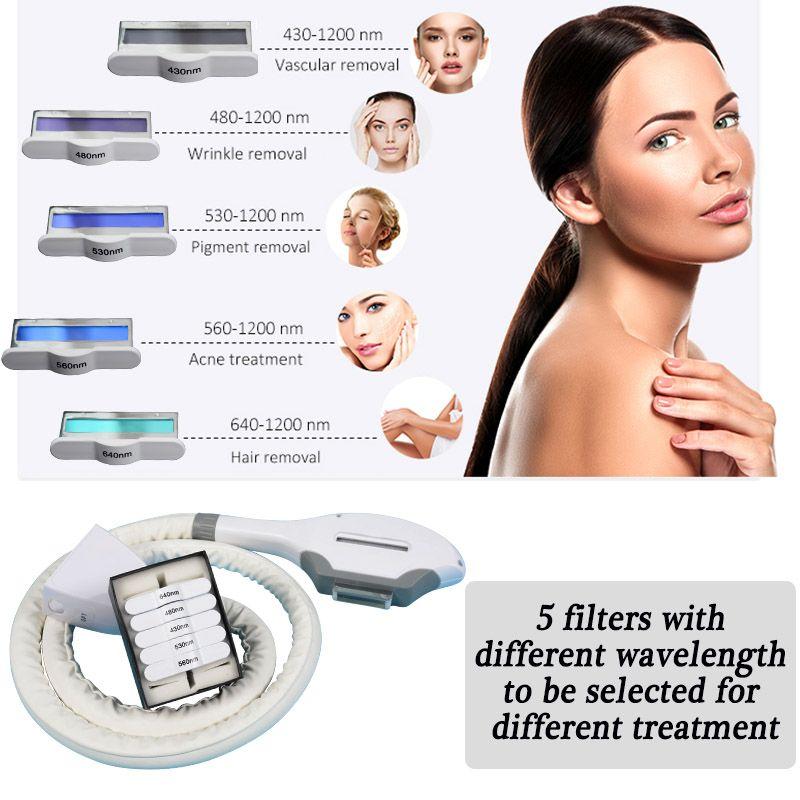 machine ipl laser hair removal clinic Portable SHR machine Laser IPL elight skin care beauty equipment
