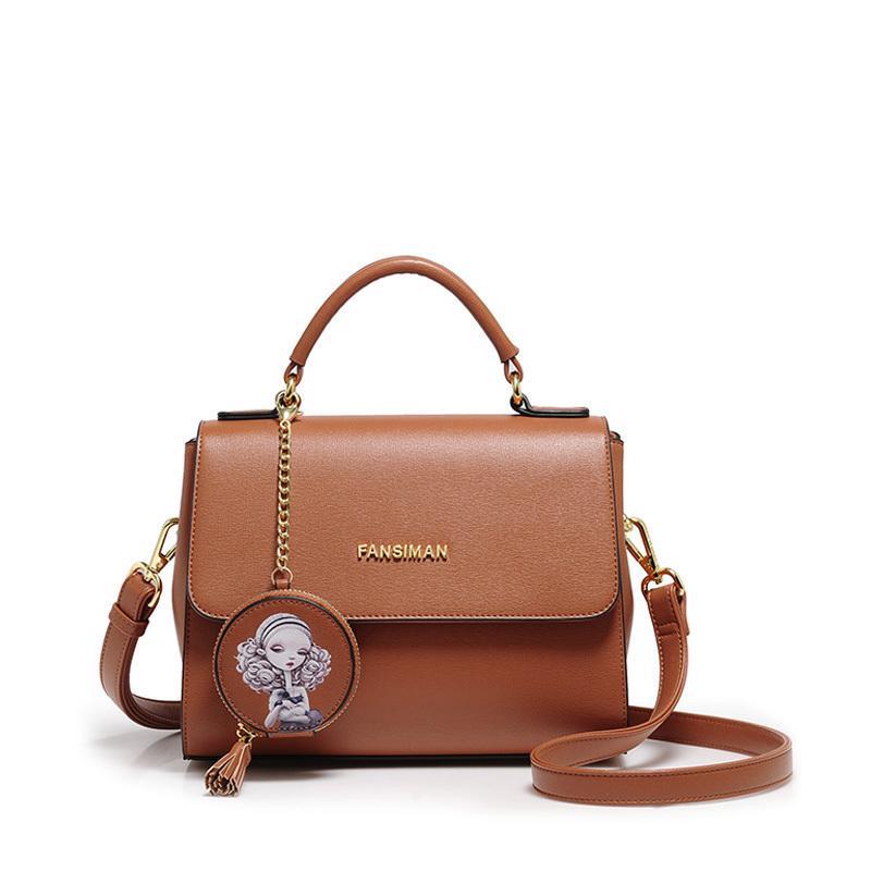 51dec25709 Good Quality Brand 2019 Women Handbags Fashion Tassel Shoulder Bags Girls  Printing Purse Luxury Shoulder Bag Design Female Hand Bag Womens Purses  Leather ...