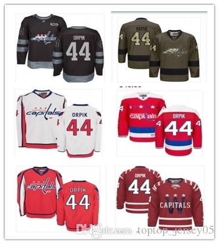 2019 2018 Washington Capitals Jerseys  44 Brooks Orpik Jerseys Men WOMEN  YOUTH Men S Baseball Jersey Majestic Stitched Professional Sportswear From  ... 2d1bfd940
