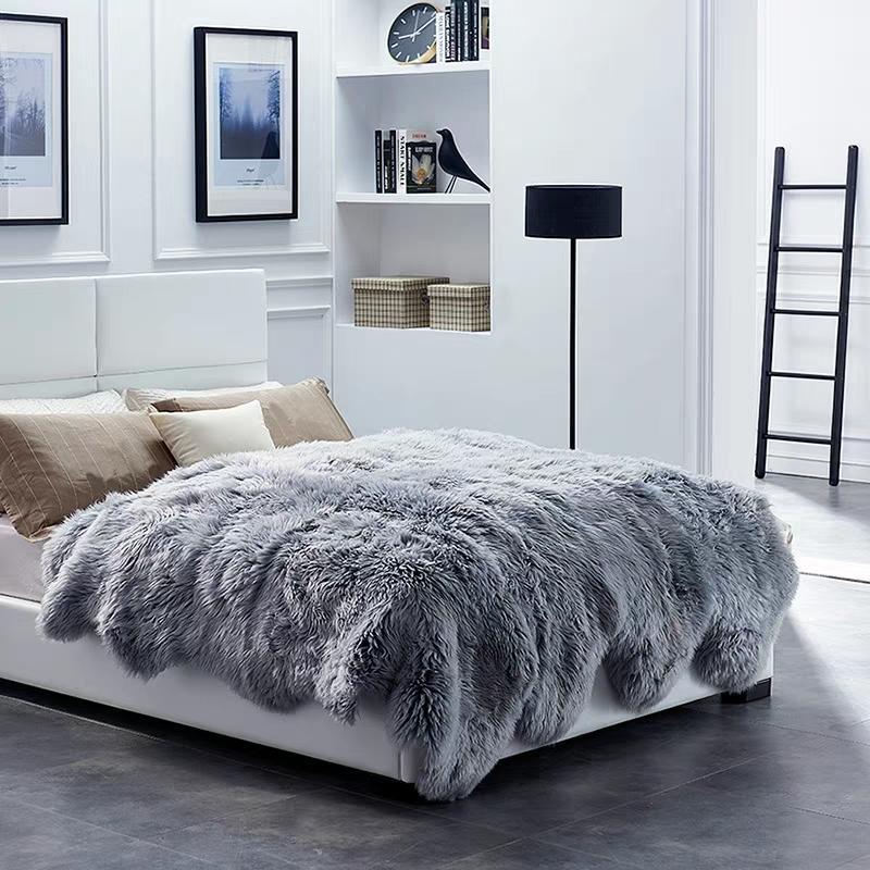 Merino Shaggy Sheepskin Rug 10P Fur Rug