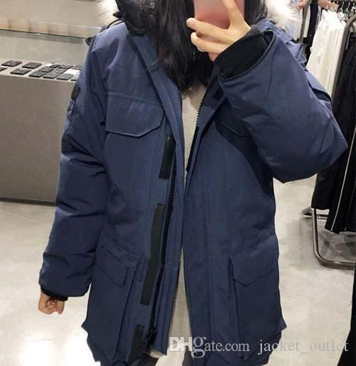 Fashion Winter Down Parkas Ep Women Hooded Brand Designer Long Jacket Thick Warm for Ladies Clothes Classic Outdoor Parka Coats Sale