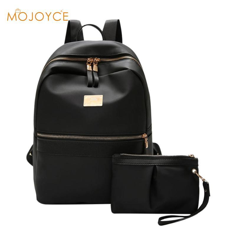 5b7387883062 Fashion Women Backpack Set Black Backpack With Small Bag PU Leather School  Bag For Ladies Bags For Woman 2018 Kids Backpacks Dakine Backpacks From  Arrownet