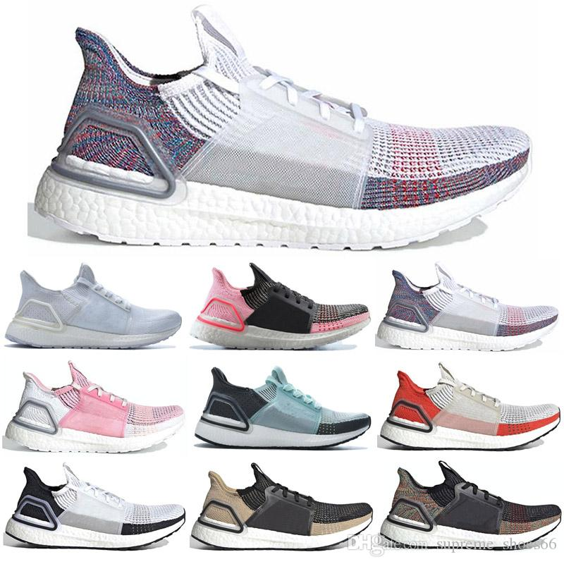 Adidas ultra boost 5.0 2019 Ultra 5.0 Laser Red navy blue Laufschuhe Herren Damen Ultra 19 UB 5.0 Triple White CLEAR BROWN Dark Pixel Designer Schuhe Sneakers 36-45