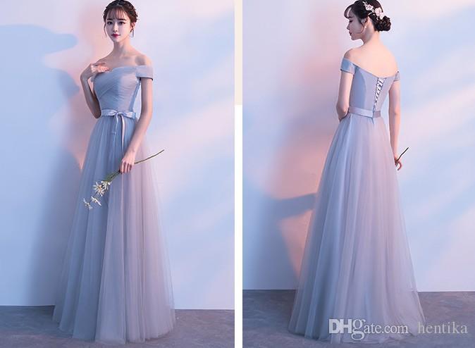 Vestido de gala largo para mujer