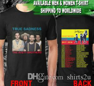 The Avett Brothers True Sadness Tour Datas BLAHarajuku T-SHIRT. ak