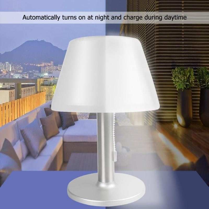2019 Outdoor Garden 10 Led Solar Table Lamp Waterproof Stainless