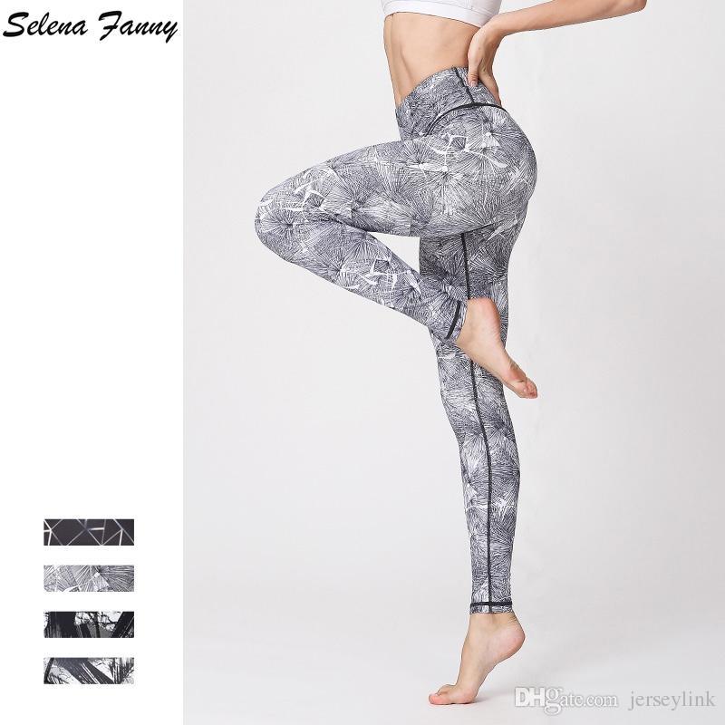 Yoga Sport Gym Rapide Femmes Collants Leggings Fanny Élastique Séchage De Selena Pantalon À Course Imprimer Jogging Pilates Pantalons Fitness vOwm8yNn0