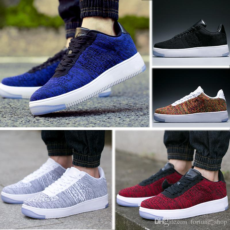 uk availability cc000 e525a Nike Air Force 1 Ultra Flyknit 2019 N02 10 Zapatos De Hombre De Moda Low One  Men Women Force China Casual Shoes Fly Designer Royaums Tipo Breathe Skate  De ...