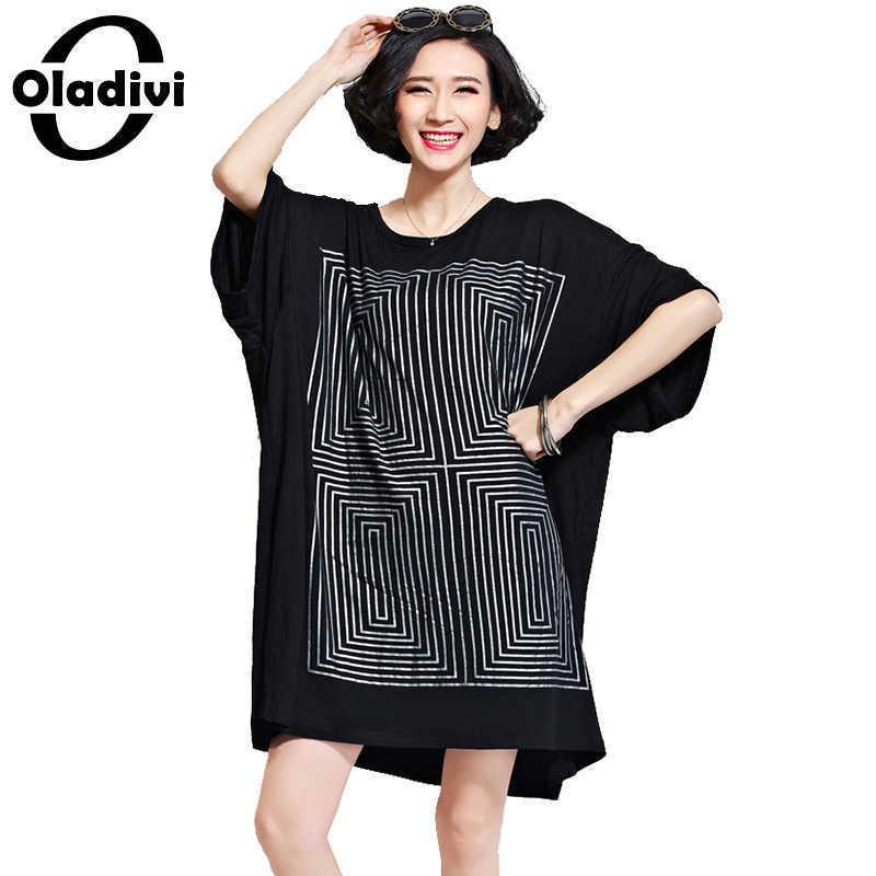 109694944 Compre Oladivi Camisa De Grandes Dimensões Vestidos Mulheres Moda ...