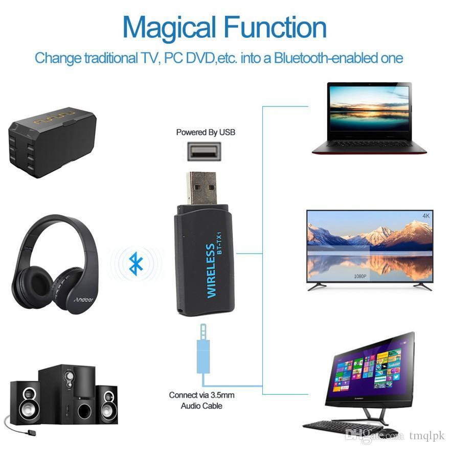 Acheter Adaptateur Usb Sans Fil Usb De Transmission Stéréo Bluetooth