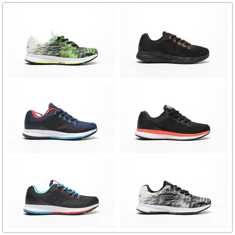 premium selection 2c2c9 237a6 2019 Hot Sale ZOOM PEGASUS 34 Lunar Mesh Breathable Running Shoes forTop  quality Mens Women Sneakers Designer Trainers Walking Size 36-44