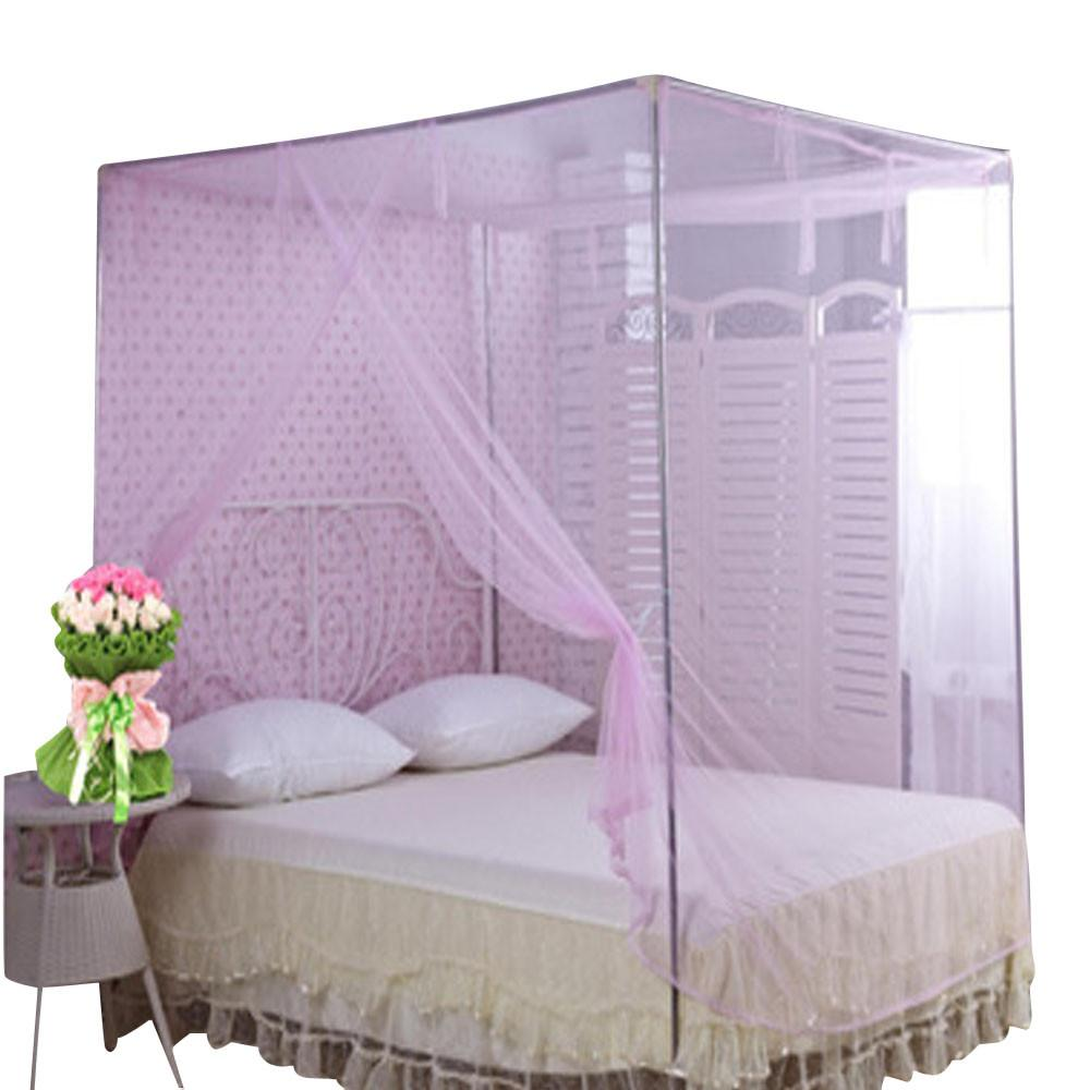 See larger image  sc 1 st  DHgate & Encryption Nets 1.5 M Square Bed Student Mosquito Net Bed Canopy ...