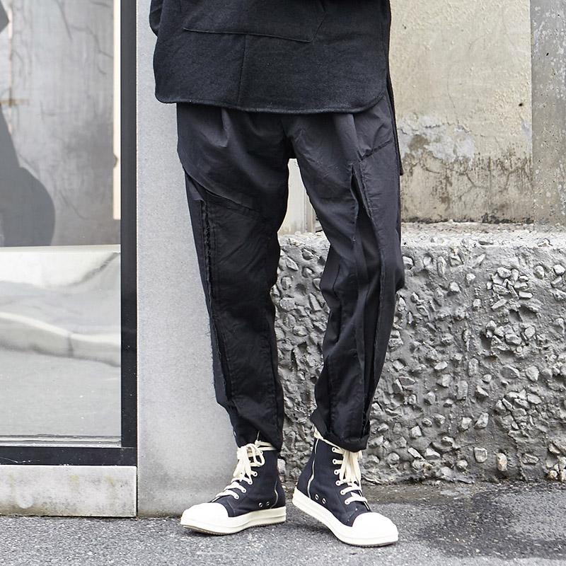 128737507781f Compre Hombres Punk Negro Gótico Hip Hop Casual Harem Pant Moda Masculina  Japón Streetwear Pantalones Joggers Pantalones De Chándal A  54.8 Del  Vikey08 ...