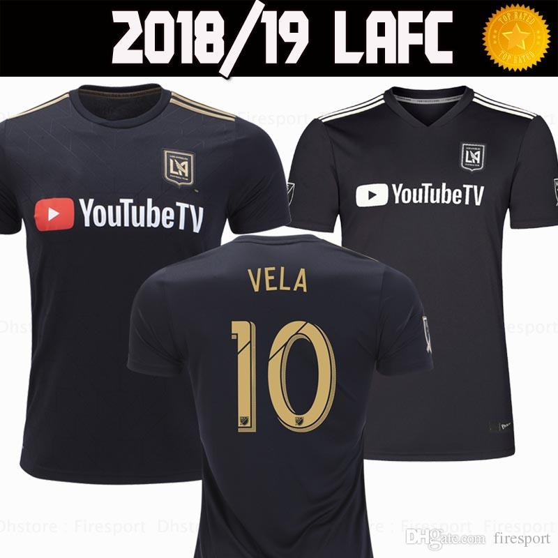 340bf4303 2019 2018 2019 LOS ANGELES FC 18 19 LAFC Soccer Jerseys 2018 Home VELA  Jersey BLESSING ROSSI FEILHABER Footbal Shirts From Firesport