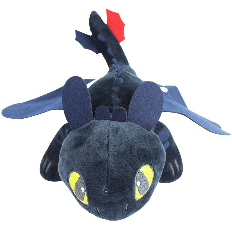 plush toy doll 9inch 23CM How To Train Your Dragon Toothless Night FURY Kids Plush Toy Doll Fury For Children Gift Free Shipping