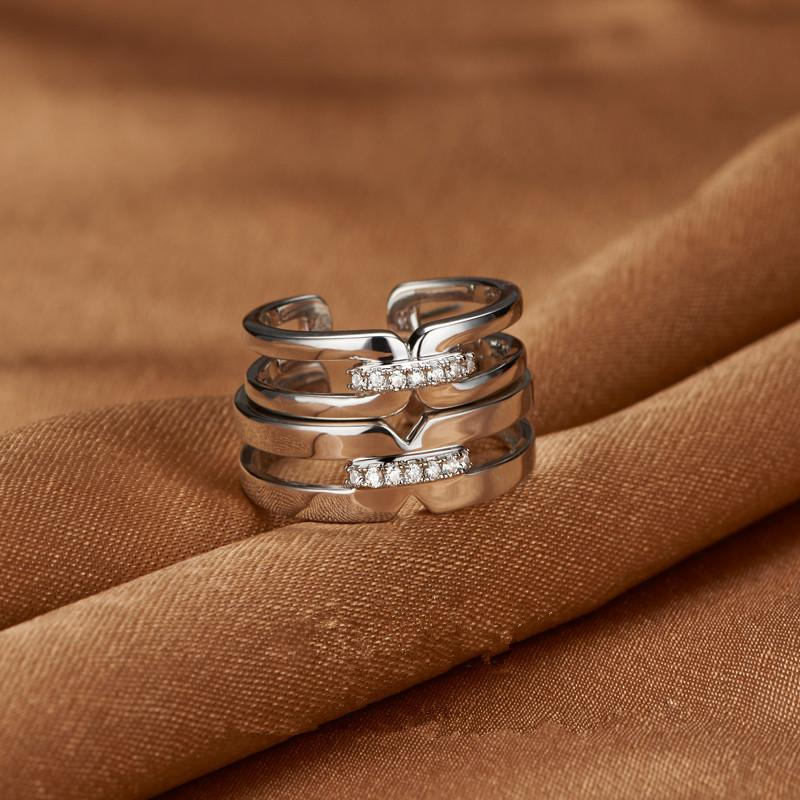 1e5a3051f6 2019 Korean Version Of Couple RING 925 Silver Platinum Platinumplated Couples  Creative Love For Valentines Day From Brandjewelrys21, $14.16 | DHgate.Com