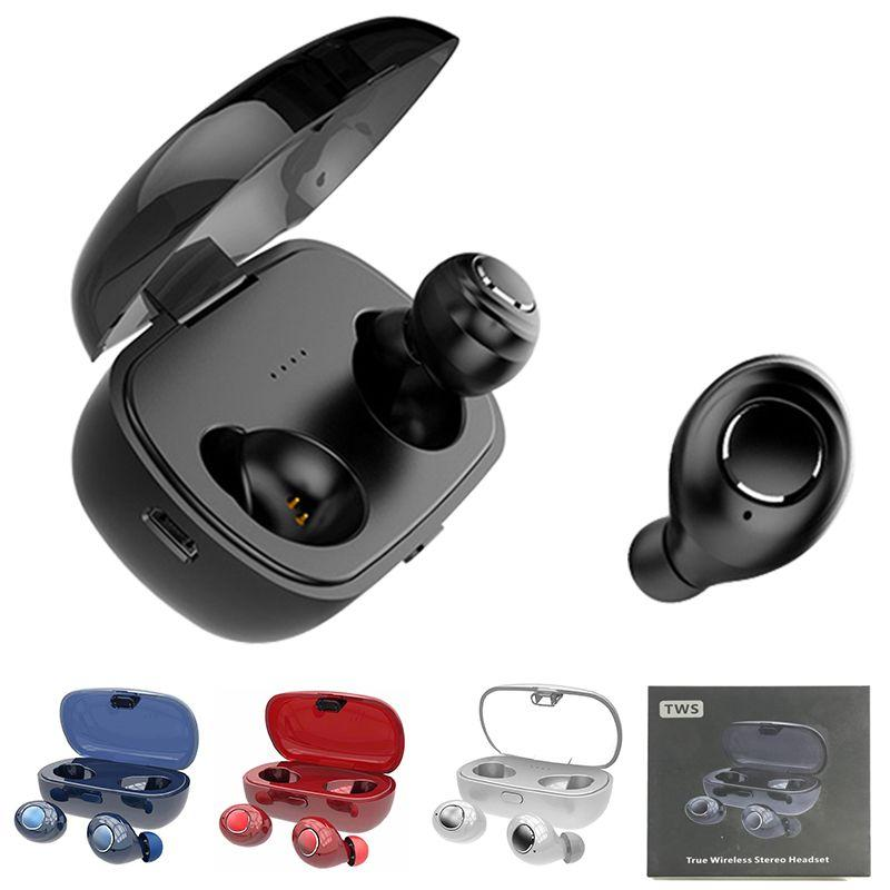 65dc921367c X8 TWS Mini Twins Bluetooth 5.0 Headphones In Ear True Wireless Earbuds  Earphones Stereo 3D HIFI Sound With Mic Waterproof Sports Headsets Best  Earbuds ...