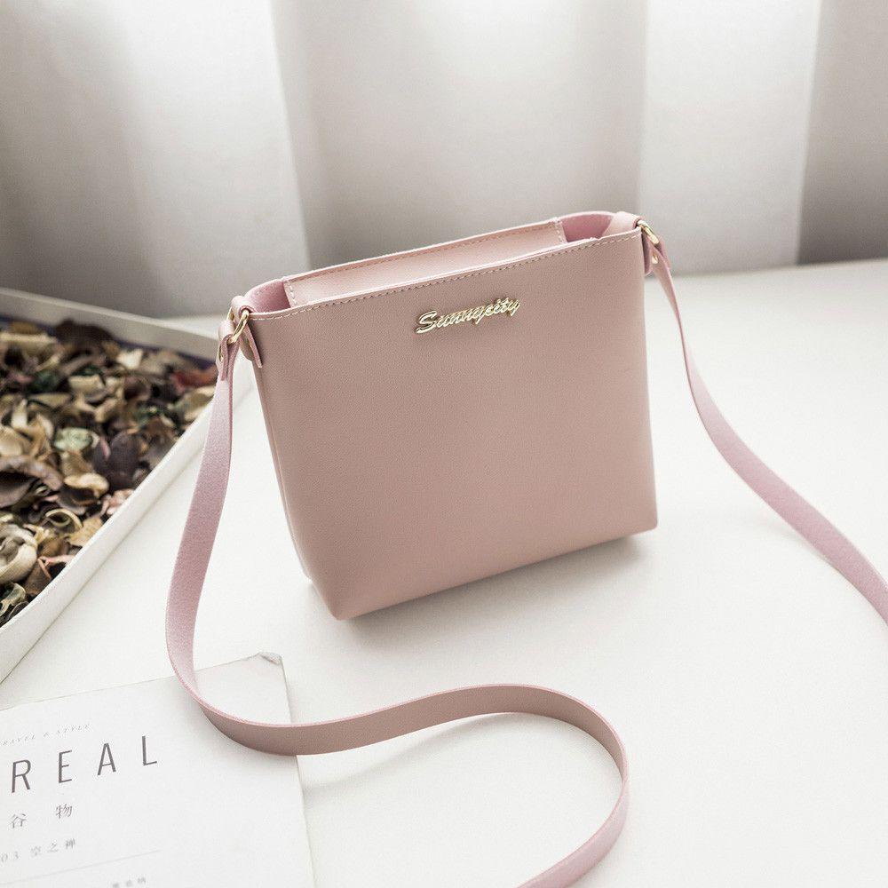 e4b7ac2014e Cheap 2019 New Female Bags Quality Pu Leather Soft Face Women Bag ...