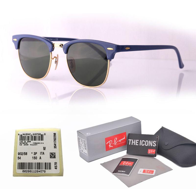 1ade08b01a48 Choose Brand Designer Cat Eye Sunglasses Men Women Semi Rimless Sun Glasses  Plank Frame Glass Lenses With Retail Box And Label Sunglasses Uk Polarised  ...