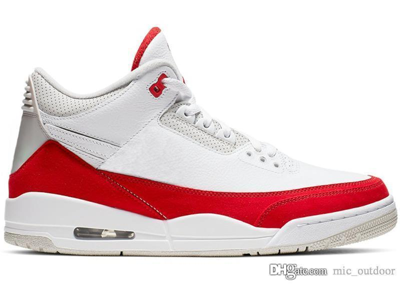 9ebaea329d4258 2019 2019 Originals Air JTH 3 Tinker CJ0939 100 White Red University  Katrina Men Basketball Shoes 3S Retro Sports Sneakers Authentic With Box  From ...