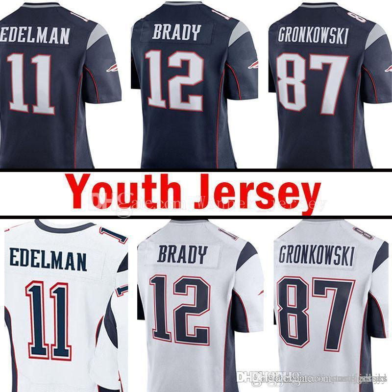 low priced 6326e 5fa86 julian edelman jersey youth