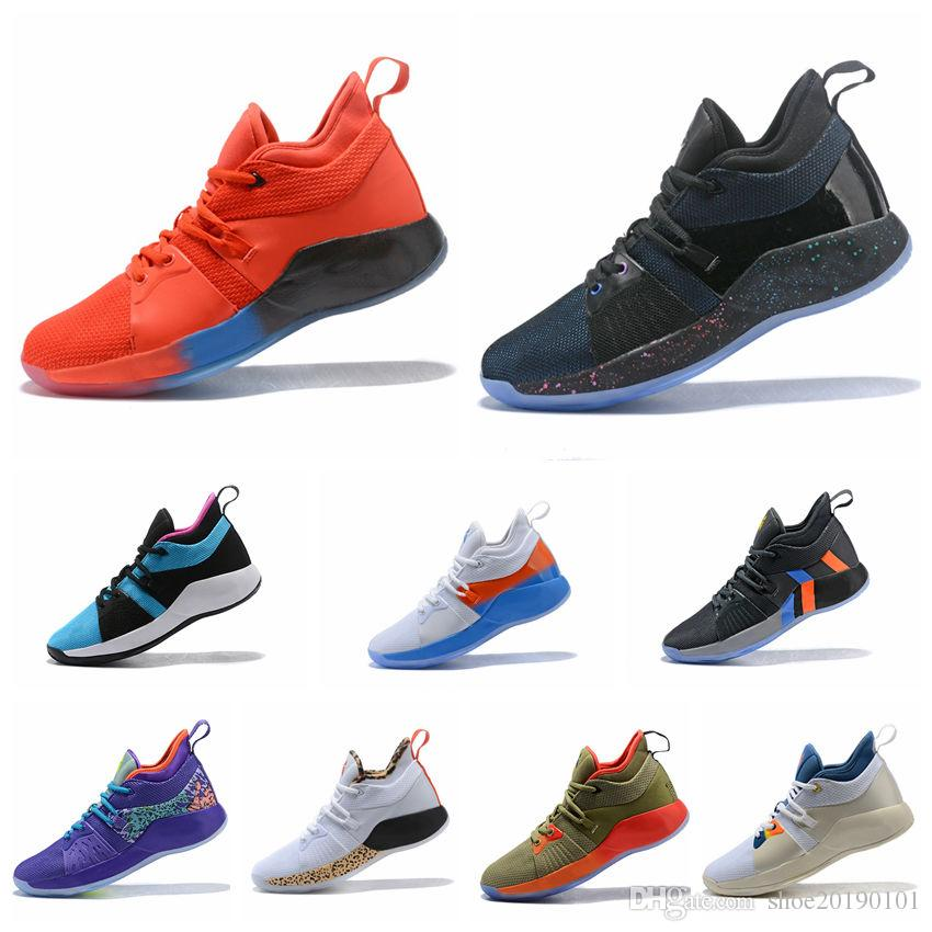 90ba8dfd8c8 2019 AAA+ Top Quality PG 2 Playstation Taurus All Star Low Top Mesh March  Madness Road Master Mens Basketball Shoes Paul George PG2 2s Size40 45 From  ...