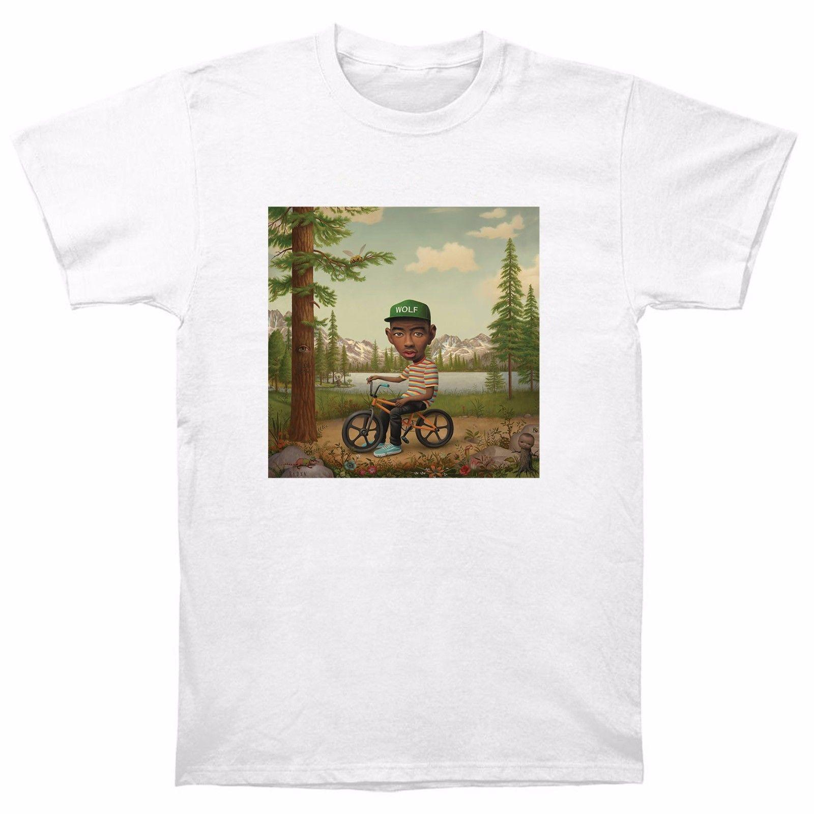 f6af72415e7d Tyler The Creator Wolf T Shirt EARL Odd Future Wolf Gang HIP HOP OFWGKTA OF  New Tee T Good T Shirt Design From Printforless51