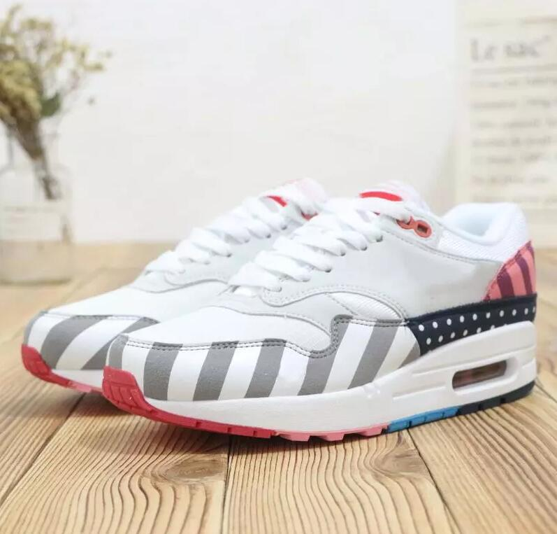 2019 Hot Sale 2018 Piet Parra x 1 Running Shoes Men Women Parra 87 white multi-color Wotherspoon New Sports Sneakers Running Trainers