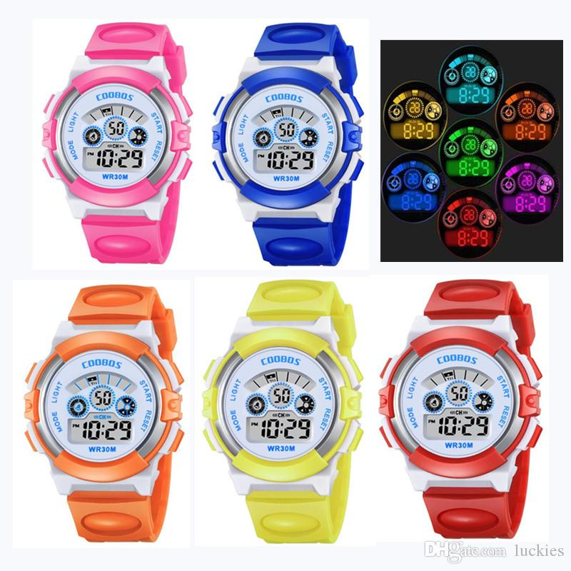 Watches 2019 Fashion Boys And Girls Outdoor Sports Army Watch Cute Luminous Childrens Cartoon Watch Student Holiday Kids Gift Moderate Price