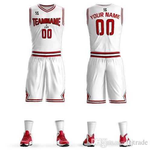 cf72194ff01e 2019 Wholesale Unisex Basketball Uniform Ball Suit Quick Drying ...