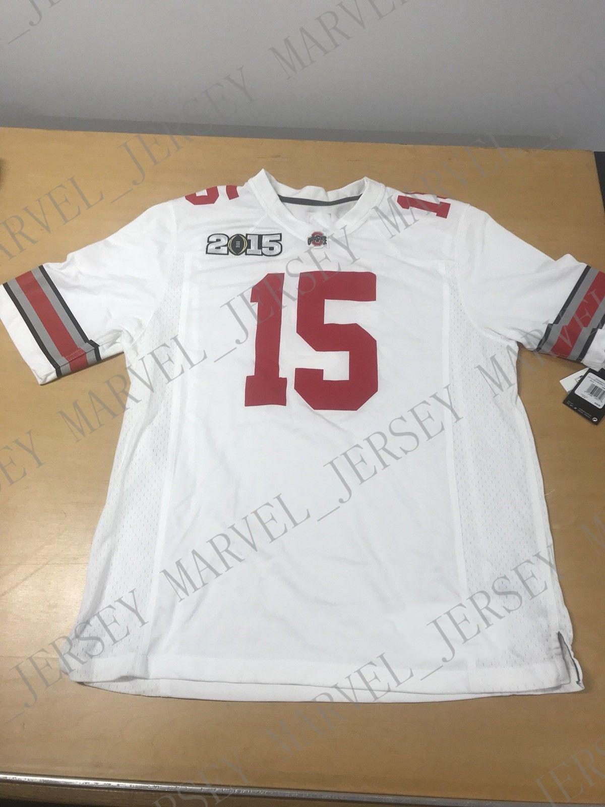 info for a1c96 b692c Cheap custom Ohio State College Football Jersey 2015 Customized Any name  number Stitched Jersey XS-5XL