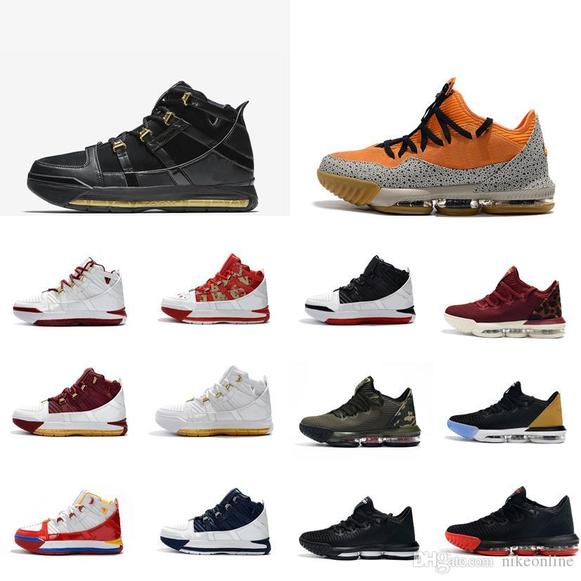 83f6f751c8f0 2019 Mens Lebron 16 Low Basketball Shoes For Sale SuperBron Blue Red ...