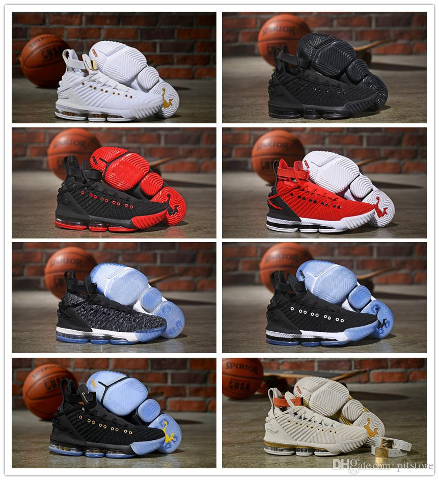 62d3b7a27ae 2019 Discount LeBron XVI 16 HFR Harlem s Fashion Row James 16 Mens Athletic  LBJ 16s Sports Size 7-12 Lebron 16 Lebron Shoes James 16 Online with ...