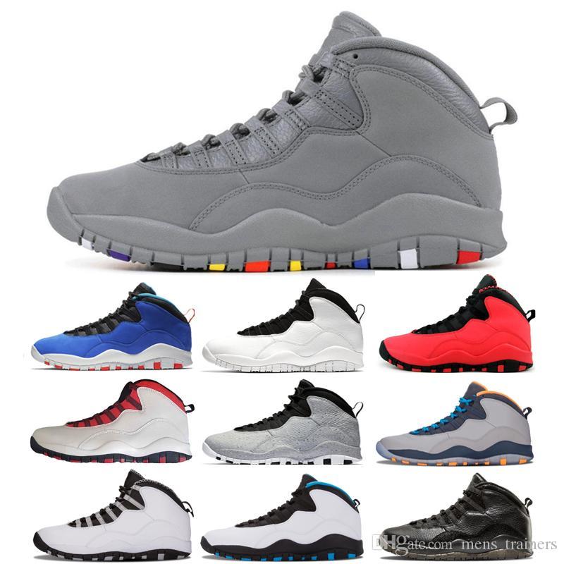 9a8f0120729 Acquista Hot Top Tinker GS Fusion Red 10 Scarpe Da Uomo Da Uomo Progettista  10s Cement I m Back Bobcats Westbrook Steel Grey Uomo Sneaker Sportivo  Sneakers ...
