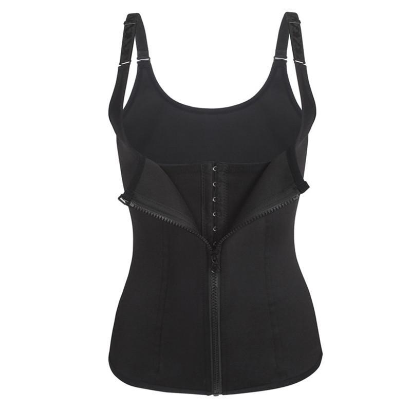 477c1ac47 2019 Bodysuit Women Slimming Zipper Waist Trainer Cinta Modeladora Hot Body  Shaper Tummy Waist Cincher Tank Corrective Shapewear Tops From  Guichenshirt