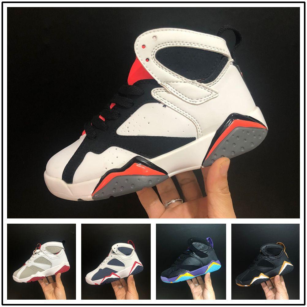 d88c96de8 Compre Nike Air Jordan Aj7 VII Zapatos Niños Niños Niñas Bebé Niño ...