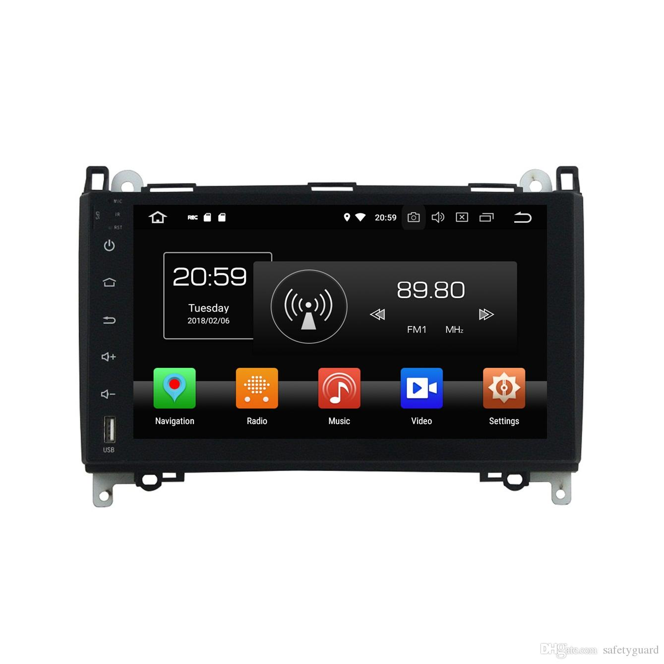 "4GB+32GB PX5 Octa Core 9"" Android 8.0 Car DVD Player for Mercedes Benz B200 W169 W245 Viano Vito Car Radio GPS Audio WIFI Bluetooth TV USB"