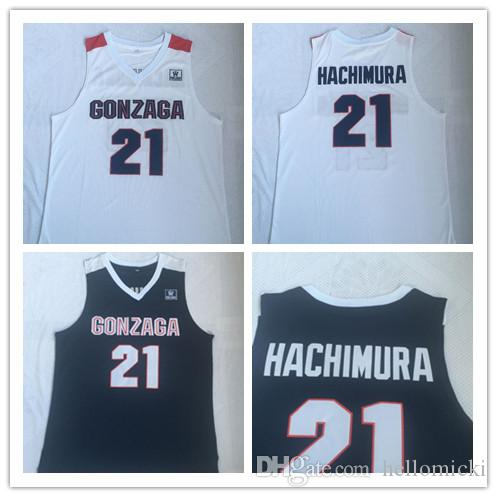 factory authentic 754dd 17d4a Gonzaga Bulldogs 21 Rui HACHIMURA Jersey NCAA College Basketball Wears  stitched jersey University jersey free shipping