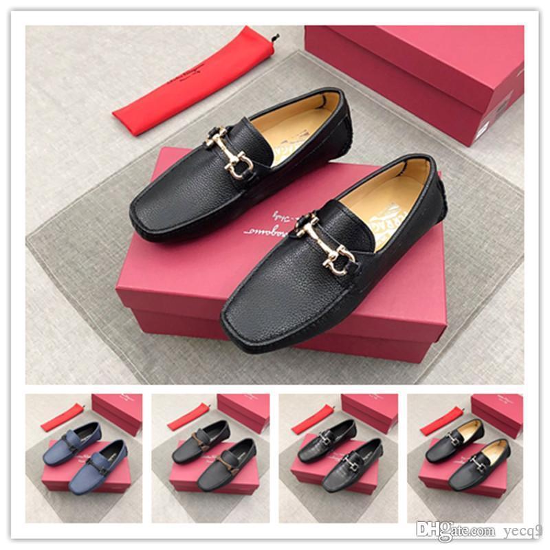 24218cfde0 Compre 2019 Novos Homens Sapatos Casuais Moda Verão Homens Mocassim Sapatos  Mocassim Sapatos Flats Homens Plus Size Deslizamento Em Sapatos De Barco ...