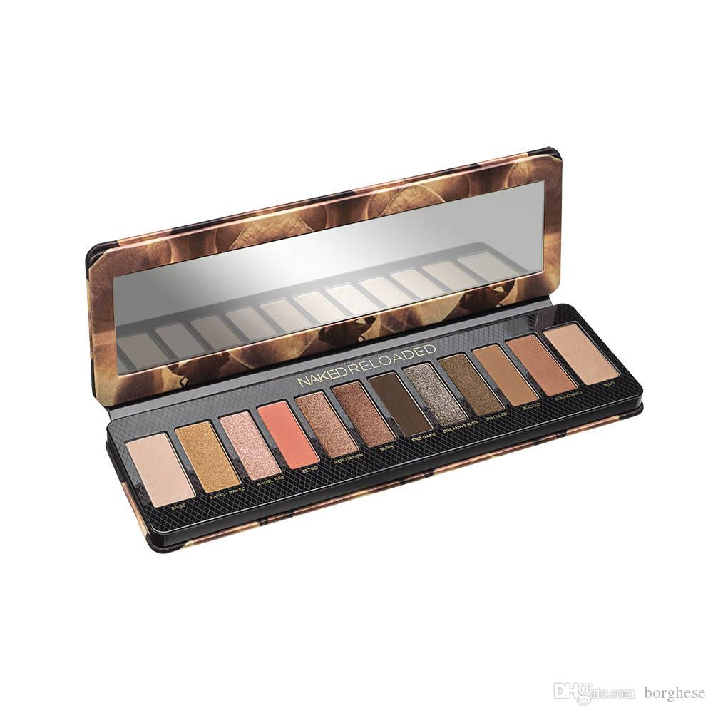 3724158bf6ee Huda Eye Makeup 12 Color Eyeshadow Palette Best Matte Metal Nude Reloaded  Beauty Shadow Palette for 0.49 oz
