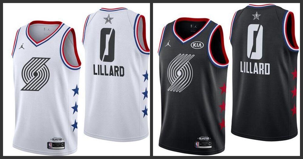 832f58574 2019 All Star Portland Trail Men Blazers Jersey Damian Lillard Jerseys  Tailcoat Suit White Tailcoat From Jerseyoutlet 09