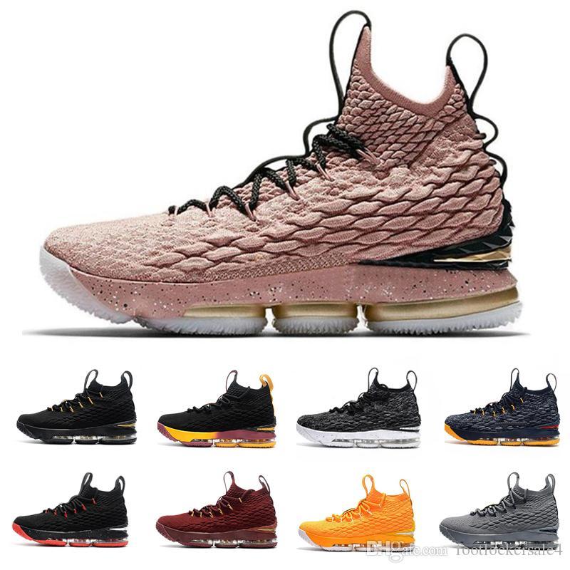 1eb93bbbfa8 Alta Calidad 15 15 S Zapatos De Baloncesto Para Hombre Triple Blanco Negro  Marrón Rojo Diseñador Al Aire Libre Hombres Zapatos De Baloncesto Zapatillas  De ...
