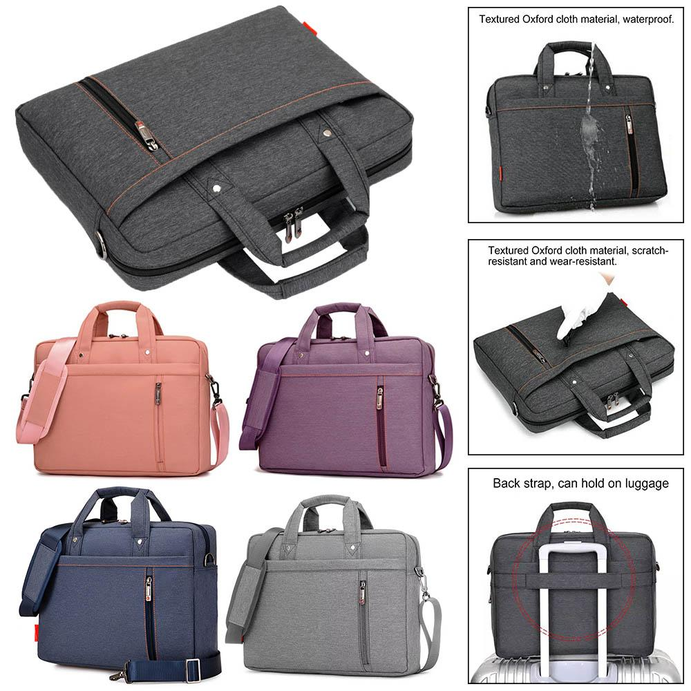 e177b645bbd Eagwell Upgrade Waterproof Laptop Bag 15.6/15/14/13inch Shoulder ...